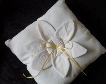 Country Ring Bearer Pillow
