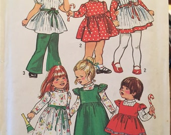 Rare OOP Simplicity Pattern #5993 Toddlers Size 2