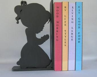 Girl Bedtime Prayer Bookend