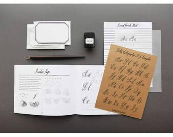 BELLE CALLIGRAPHY INSTRUCTIONAL Diy Kit
