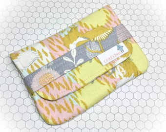 Sanitary Pad Holder, Fox Print, Tampon Case, Sanitary Pad Case, Tampon Holder, Sanitary Napkins, Period Case, Discreet Wallet, Period Pads