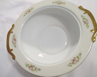 Vintage Meito China Round Serving Bowl