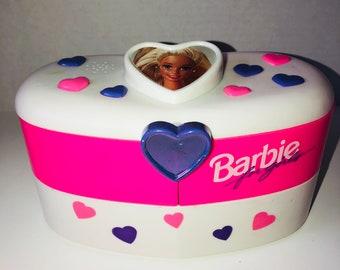Barbie Vintage Jewelry Box, 90s Barbie, Vintage Jewelery Box