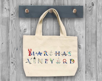 Martha's Vineyard tote bags