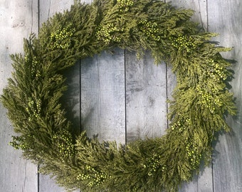 Farmhouse Wreath, Front Door Wreath, Summer Wreath, Door Wreath, Green Wreath, Wedding Wreath, Summer Wreaths, Wreath For Door, Home Decor