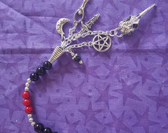 The Morrigan Prayer Beads