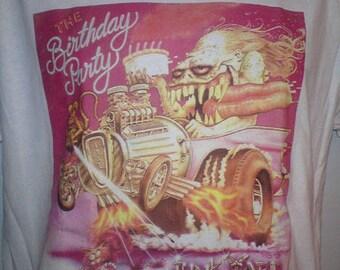 Birthday party Junk yard sleeve T-shirt