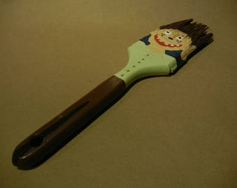 Hand painted paintbrush art funny