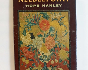 Needlepoint Hardcover Book by Hope Hanley 1964