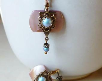 Earrings - Dazzling Blue
