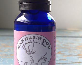 Sandalwood Absolute Essential Oil - Diluted in Jojoba Oil