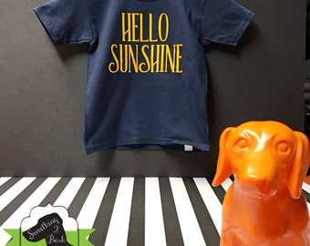 Hello Sunshine Kids Shirt