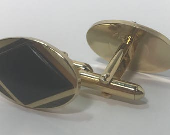 Vintage Oval Cuff Links