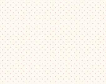 1/2  Yard- BABY PINK  La creme Swiss Dot by Riley Blake Designs- C600-75