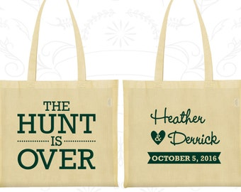 The Hunt is Over Wedding Bags, Promotional Bags, Custom Tote Bags (27)