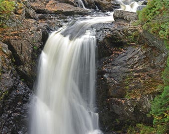 Moxie Falls, The Forks, Maine