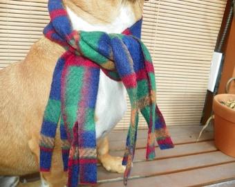 Dog Scarf  Christma Scarf Fleece Pet Scarf  Sizes XXSmal 4XLarge