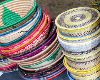 small handmade fruits and veggies baskets, house decor, tortillas baskets and coasters
