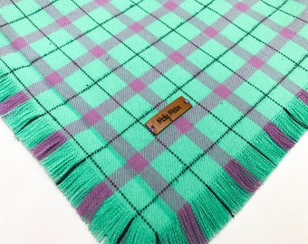 The 'Pink & Mint' Dog Bandana