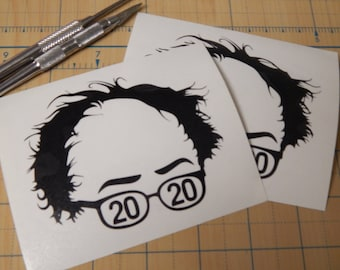 Bernie Sanders  Decal  |  Bernie for president 2020 sticker