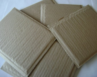 10 6x9 Brown Kraft Bubble Mailer Self Seal Adhesive Envelope Protective Padded Wrap Shipping Supply Plastic Sturdy Lightweight DVD Size 6x10