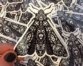 Moth Sticker