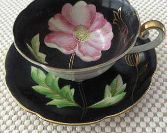 Japanese teacup and saucer