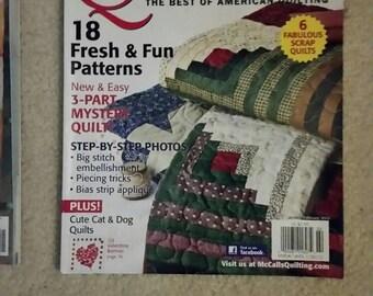 McCall's Quilting Magazine Quilt patterns Jan/Feb 2012