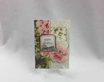 Anna Griffin, Handmade Card, Happy Birthday, Sister, Daughter, Friend, Mother, Wife