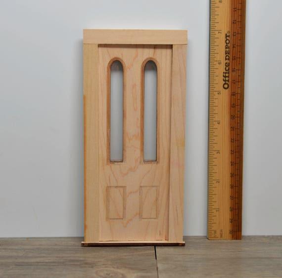 Like this item? & 1:12 Dollhouse Door with Double Windows / Miniature Door AM