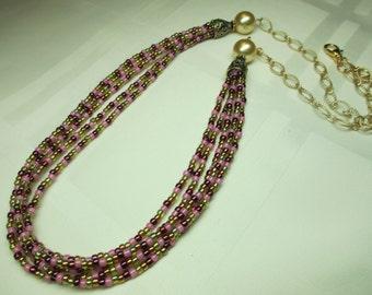 Multi Strand Necklace 5