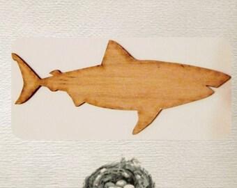 Shark / Great White Shark / (Medium) Wood Cut Out - Laser Cut