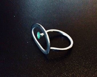 Silver Statement Ring #8