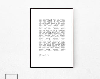 Forever Young, Forever Young Lyrics, Bob Dylan, Bob Dylan Print, Bob Dylan Lyrics, Forever Young Lyrics Wall Art, Bob Dylan Poster, Famous.