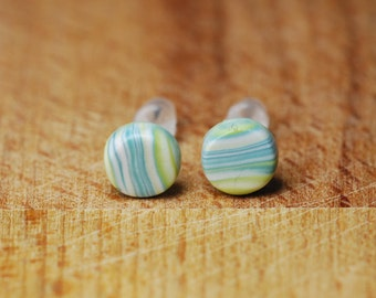 Tiny Studs - Small Stud Earrings - Everyday Earrings - Tiny Stud Earrings - Hypoallergenic Earrings - Nickel Free - Gift For Her - Fimo