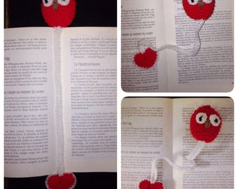 Bookmark OWL and heart