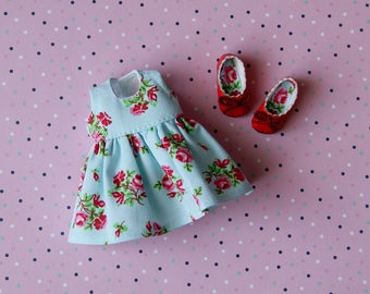 BJD dolls Flower Dress and shoes for Realfee