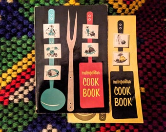 2 1950s Metropolitan Life Insurance Cookbooks