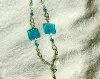 Blue Ice necklace #7