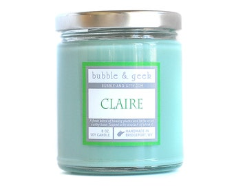 Claire Scented Soy Candle Jar  - Sassenach