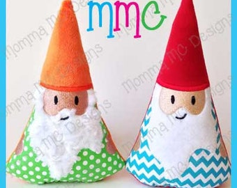 Gnome Softie Machine Embroidery File