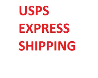 Shipping difference from USPS Priority to USPS Express