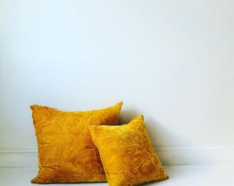 Hand Dyed Pillow Cover Cushion Throw Pillow