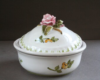 vintage french ceramic tureen
