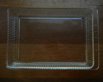 Glass Refrigerator Meat Tray