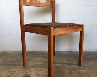 Vintage Danish mid century modern dining/accent chair by Nissen of Denmark