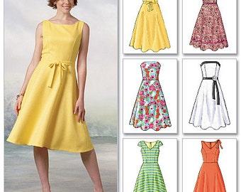 Butterick Pattern B4443 Misses'/Misses' Petite Dress