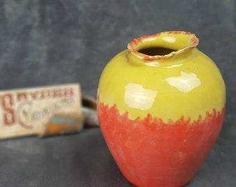 Red Yellow Vase