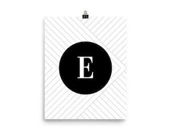 Santorini Collection E print