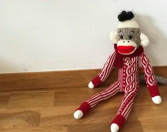 Sock plush [Monkey] original Sockmonkey Sockmonkey